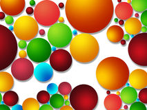 Colorful bubble background Royalty Free Stock Photos