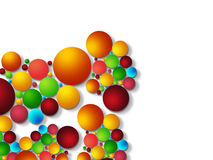 Colorful bubble background Royalty Free Stock Photography