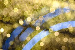 Colorful bubble bokeh background Stock Photography
