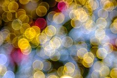 Colorful bubble bokeh background Royalty Free Stock Photography
