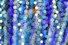 Colorful bubble bokeh background Royalty Free Stock Photos