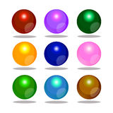 Colorful bubble shpere Stock Images
