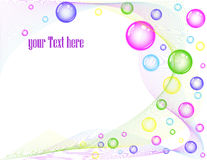 Colorful bubble background stock vector. Image of ...