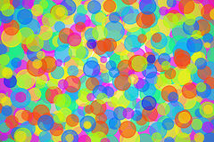 Colorful Bubbles Abstract Stock Photography