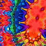 Colorful bubbles abstract background Royalty Free Stock Photo