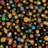 Colorful bubbles on dark background Royalty Free Stock Image