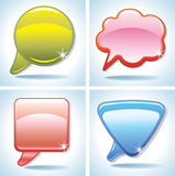 Colorful bubbles for speech. Imade for your design and more Stock Photo