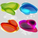 Colorful bubbles for speech. This is file of EPS10 format Stock Photo