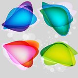 Colorful bubbles for speech. This is file of EPS10 format Royalty Free Stock Photos