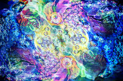Colorful bubbles texture Royalty Free Stock Photo