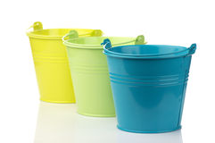 Free Colorful Buckets Stock Photography - 15012722