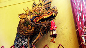Colorful Buddhist dragon Royalty Free Stock Images