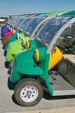 Colorful Buggies Stock Photo
