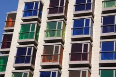 Colorful building Stock Image