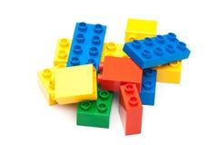 Colorful building blocks Royalty Free Stock Photos