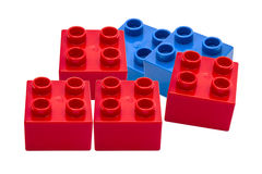 Colorful building blocks Royalty Free Stock Images