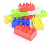 Colorful building blocks Stock Photo