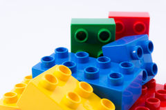 Colorful building blocks Royalty Free Stock Image