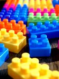 Colorful building blocks. Photo of colorful building blocks Royalty Free Stock Image