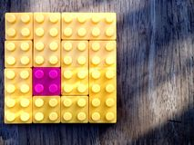 Colorful building blocks. Photo of colorful building blocks Stock Photos