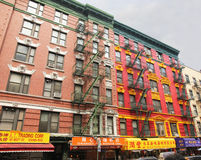 Colorful building in chinatown. Stock Photos