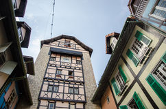 Colorful building - Colmar Tropicale Royalty Free Stock Images