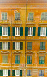 Colorful building facade Royalty Free Stock Image