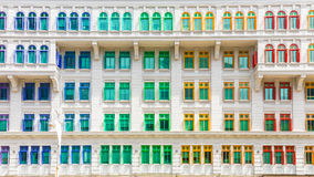 Colorful building of Ministry of culture, community and youth in Royalty Free Stock Photos