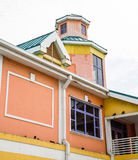 Colorful Building in Nassau Bahamas. An old colorful building in Nassau Bahamas stock photography