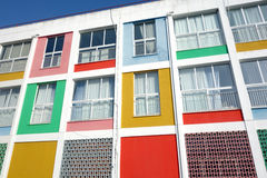 Colorful building. Offices in Komotini, Greece Stock Photography