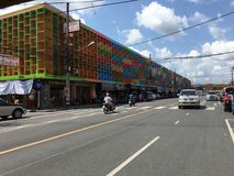 Colorful Building. Of Thailand in Sunny day royalty free stock photos