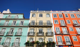 Colorful buildings Royalty Free Stock Image