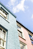 Colorful buildings Stock Image