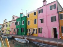 Burano Canal Stock Photography