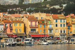 Free Colorful Buildings And Boats In The Small Village At Port-Cassis,France Royalty Free Stock Images - 145773819