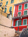 Colorful buildings Bastia Corsica France Royalty Free Stock Photos