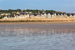 Colorful buildings in Deauville, France Stock Images