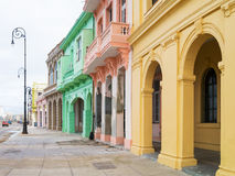 Colorful buildings in Havana Royalty Free Stock Images