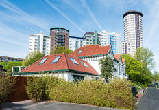 Colorful buildings in the Netherlands Stock Photo