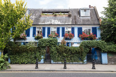 Colorful Buildings in Notting hill London Royalty Free Stock Photos