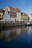 The Colorful Buildings of Nyhavn in Copenhagen Stock Image