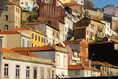 Colorful buildings in the old town. Porto. Portugal stock photos