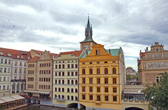Colorful buildings in Old Town of Prague Stock Photography
