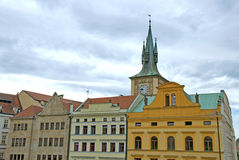 Colorful buildings in Old Town of Prague Royalty Free Stock Photos