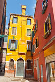 Colorful buildings in Venice Royalty Free Stock Image