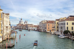 Colorful buildings in Venice . Royalty Free Stock Images