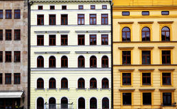 Colorful buildiugs Royalty Free Stock Image