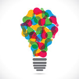 Colorful bulb Royalty Free Stock Images