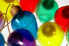 Colorful Bulbs Stock Images