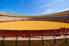 Colorful bullring in seville spain Stock Photos